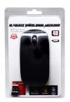 Wireless Optical Usb Mouse Mobilis A100 3 Πλήκτρων Μαύρο