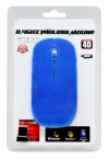 Wireless Optical Usb Mouse Mobilis A100 3 Πλήκτρων Μπλέ