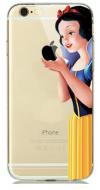 """Σκληρή Θήκη Σιλικόνης για Iphone 6/6S  Διάφανη """"Χιονάτη"""" (OEM)"""