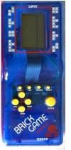 Φορητό Τέτρις Brick Game 9999 in 1 + Φακός μπρελόκ - μπλέ